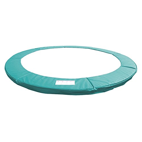 Greenbay 8FT Outdoor Trampoline Replacement Pad Safety Spring Cover Padding (Green)