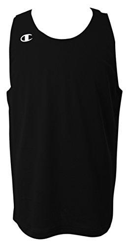 [チャンピオン] タンクトップ ワンポイントロゴ リバーシブルタンクトップ バスケットボール REVERSIBLE CBR2300 メンズ ブラック L