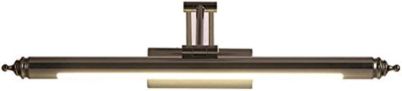 Scofeifei LED-Spiegel-Lichter, Spiegelkabinettlichter, Badezimmer-Moderne unbedeutende Spiegel-Lichter, europische Badezimmer-Lichter (Farbe   56cm, Gre   -)