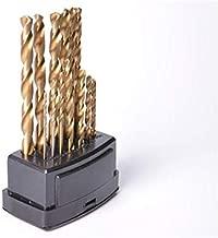 13 Parça TiTanyum Çelik Matkap Uç Seti Ahşap Metal Delik Delme Yüksek yoğunluk Hss Drill Bits
