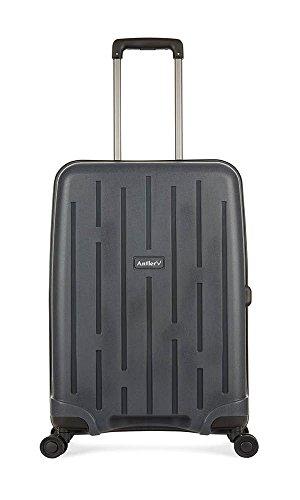 Antler Lightning Medium Suitcase with Wheels | Flight Case | Hard Suitcase | Lightweight Suitcase | Hard Luggage | Travel Case | Branded | Push Case| Designer | Spinner Suitcase Medium