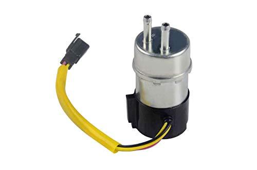 Electric Fuel Pump 12V Inline 4 Wires Replacement for Suzuki Marauder 800 VZ800 RF600R Carbureted(1993-2004) 15100-21E01 /Kawasaki Vulcan Voyager XII ZG1200B VN1500 49040-1063