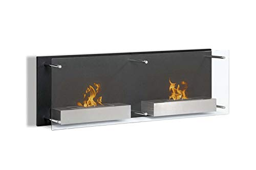 Find Bargain Regal Flame Mora 47 Inch Ventless Wall Mounted Bio Ethanol Fireplace
