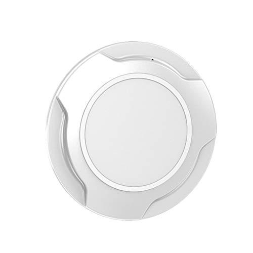 YWSZJ Cargador Inalámbrico, Carga Inalámbrica Magnética De 15W Qi con La Interfaz USB-C Cargador Inalámbrico Rápido (Color : White)
