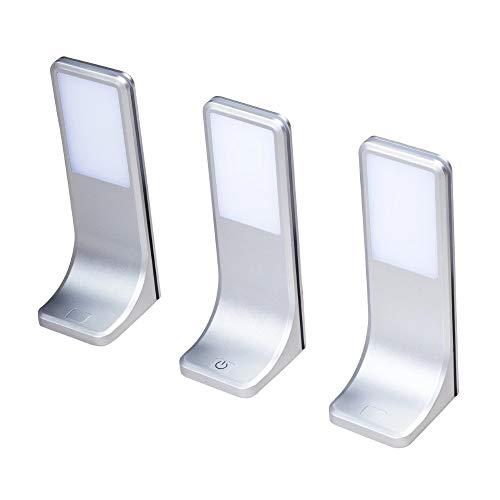 LED Unterbauleuchten Küchenleuchte Küchenleuchten Panel Unterbauleuchte Küche, Auswahl:3er SET, Lichtfarbe:warmweiß