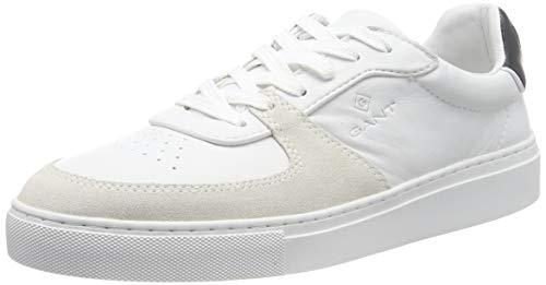 GANT Footwear Herren Denver Sneaker, Weiß (Br.Wht./Marine G297), 43 EU