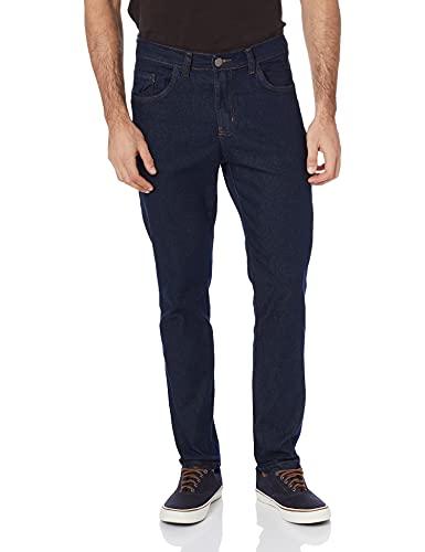 Calça Basica Polo Wear Jeans Escuro 48 Masculino