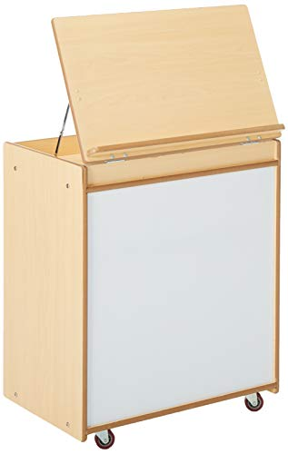 Angeles Value Line Big Book Display Stand, Kids Book Shelf and Storage Organizer/Dry Erase Board, Classroom Furniture for Playroom/Homeschool/Daycare