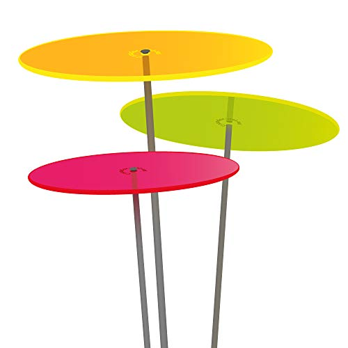 Cazador del Sol ® Medio | tres | 3 Stück Sonnenfänger bunt 1,20 Meter hoch - das Original