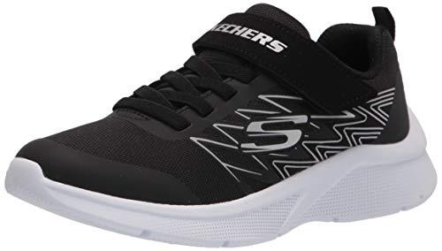 Skechers Jungen Microspec Texlor Sneaker, Schwarz, 36 EU