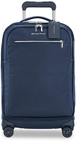 Briggs Riley Rhapsody Softside Spinner Luggage Navy Tall Carry On 22 Inch product image