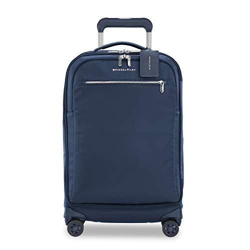 Briggs & Riley Rhapsody - Softside Spinner Luggage, Navy, Tall Carry-On 22-Inch