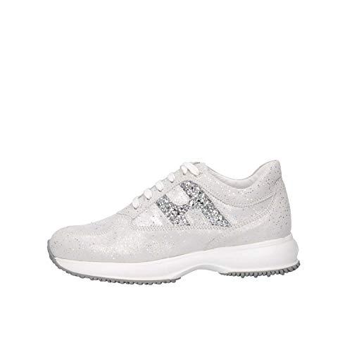 Hogan Junior HXC00N0O241KIIB200 Sneakers Bambina Argento 32