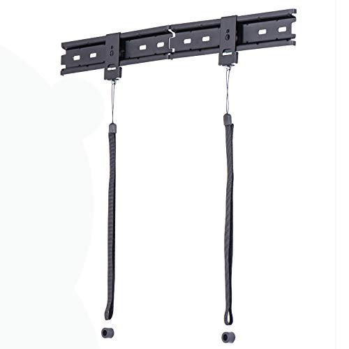 Amazon Basics, supporto a parete per TV, piatto, universale, design con doppia staffa, gamma Essentials