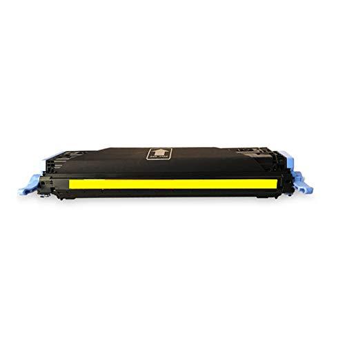 Cartucho de tóner compatible HP Q6000A de repuesto para impresoras HP Laserjet Pro 1600 2600n 2605 CM1015 1017, suministros educativos de alta calidad instalados y usados, color amarillo
