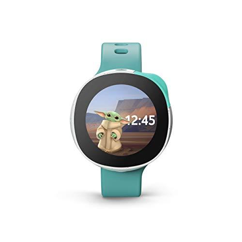 Vodafone Smart Kids Watch - Reloj Inteligente para niños con GPS y SIM integrada en colaboración con Disney, Color Verde Menta