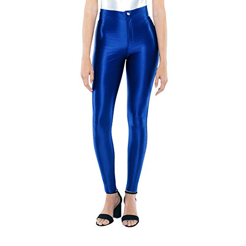 American Apparel Women's The Disco Pant, Royal Blue, Small