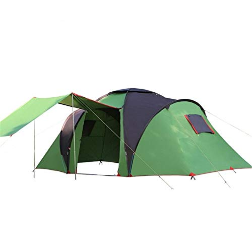 MOMIN Compact Yurts Are Also Garden CampingCompact Yurts Large Glass Fiber Rod Durable Picnic Tent 4-6 People Family Dome Tent Waterproof Camping Tent Light Camping and Hiking Tents