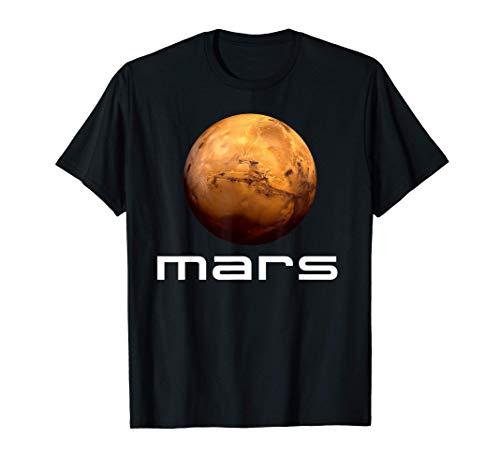 Sonnensystem Planet Mars Weltraum Astronomie Weltall T-Shirt