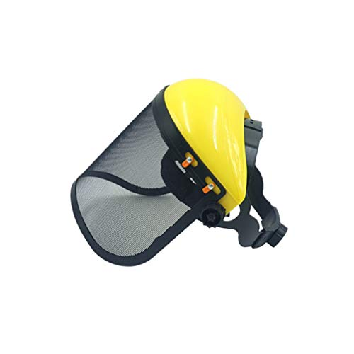 Hemoton Elmetto Protettivo di Sicurezza per Motosega con Visiera Combinata Set Dispositivo di Sicurezza per Tosaerba Forestale per Mezzo Casco da Giardinaggio