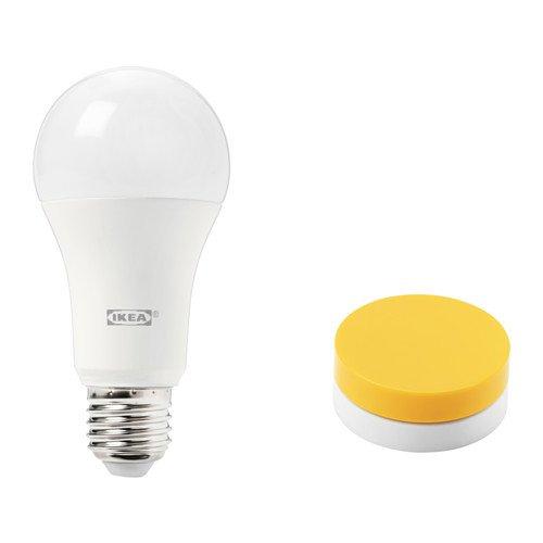 IKEA TRADFRI Dimmer-Set für Beleuchtung in gelb; warmes Tageslicht; A+