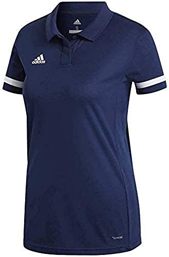 adidas T19 Polo W Polo Shirt, Mujer, Power Red/White, XL