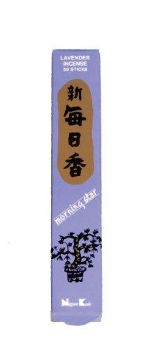 Nippon Kodo Co. Juego de 50 varillas de incienso de lavanda, 15 ml