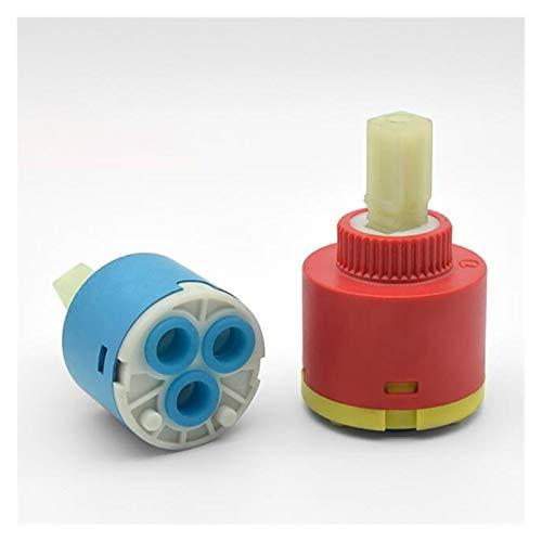 Cartucho de disco de cerámica de 35 mm / 40 mm Cartucho de grifo azul de la válvula de grifo azul del grifo del grifo del grifo Reemplace la pieza Cartucho de disco de cerámica ( Color : 35mm )