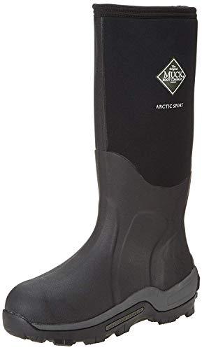 Muck Boots Arctic Sport, Unisex-Erwachsene Outdoor Fitnessschuhe, Schwarz (black), 46 EU