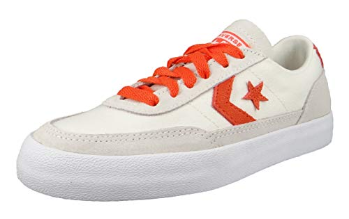 Converse 167624C Chuck Taylor Net Star Classic OX - Egret Bold Mandarin, colore: Bianco, Nero (Black Wolf Grey White), 38 EU