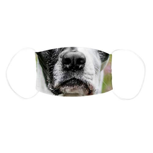 SHUANGA Mundmaske Atmungsaktive Einstellbare Cartoon Nette Anti Staubmaske für Baumwolle Sonnenschutzstaubdicht Warm Maske Soft Skin freundliche Schutzhülle Duschhaube