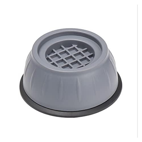 Augus Jacob 4 PCS Anti Vibración Lavadora Pies Almohadillas Secador Soporte Muebles Estabilizador Lavadora Base Anti-Skid Foot Pedestales (Color : 5)