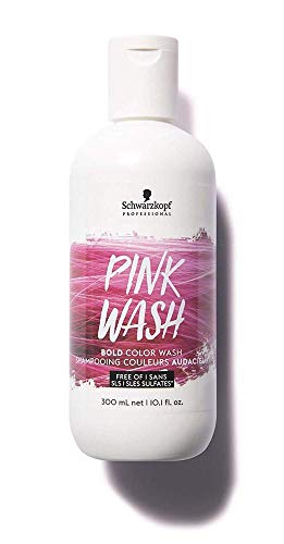 Schwarzkopf Bold Color Wash Champú Pink/Rosa Wash 300Ml