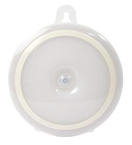 Foco LED a pilas con sensor de movimiento.