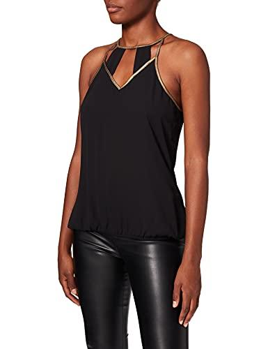 Morgan Oni Camiseta sin Mangas, Negro (Noir), 40 (Talla del Fabricante: 40 Taglia Produttore 40) para Mujer