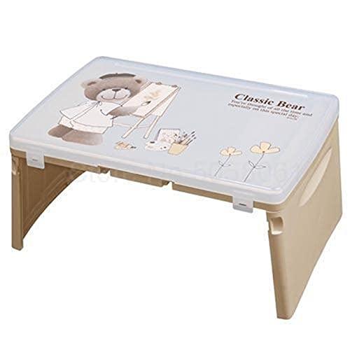 RWEAONT 999 Tabla de Escritura de la Tabla de Aprendizaje Plegable Tabla Coreana Cama de Mesa Plegable importada con bebé for Aprender Mesa de Escritura Infantil (Color : Fy2)