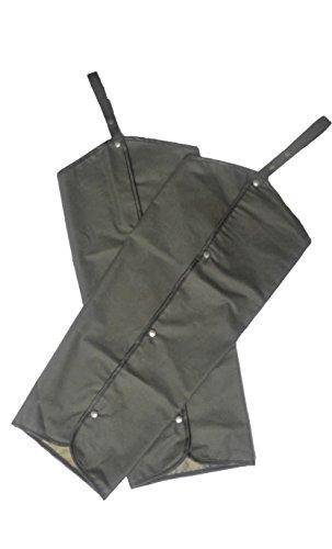 WALKER AND HAWKES Unisex Chaps mit Druckknöpfen - 100% gewachste Baumwolle - Olivgrün - Einheitsgröße