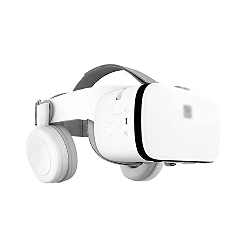 WGLL VR Auriculares, Auriculares de Realidad Virtual, Apoyo Bluetooth VR Gafas Gafas para películas, Video,...