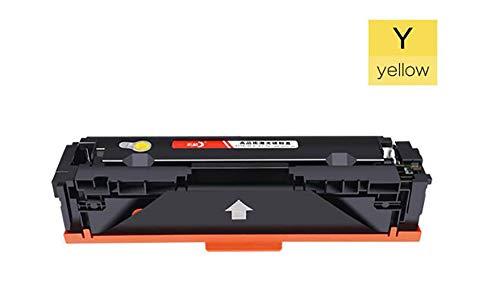 CF510A CF511A CF512A CF513A tonercartridge compatibele vervanging voor HP Color Laserjet Pro M154a M154nw serie printers, De cartridges waren eenvoudig te installeren size Geel