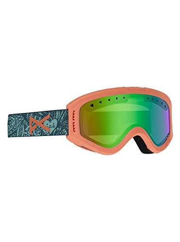 Burton Tracker Gafas de Snowboard, Niños, Tangle/Green Amber