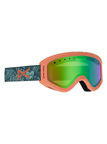 Anon Unisex Jeugd Tracker Snowboard bril, Tangle/Green Amber