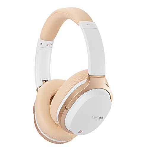 Edifier W830BT Bluetooth-Kopfhörer, Kabellose Over-Ear-Ohrhörer, Stereo-Hi-Fi-Headset mit Mikrofon und Fernsteuerung zur Nutzung mit dem Smartphone, PC, Tablet oder Mac