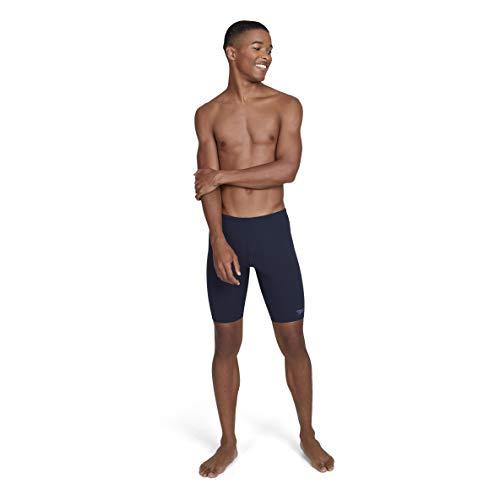 Speedo Essential Jammer Badehose für Herren, Schwimmhose für Männer, Navy, Größe 4