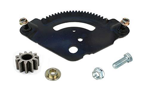 ZAlTOE Steering Sector Gear Plate Upgrade KIT Compatible with MTD Bolens Cub Cadet Yard Machines Yard-Man Troy-Bilt Models 717-1550,917-1550E