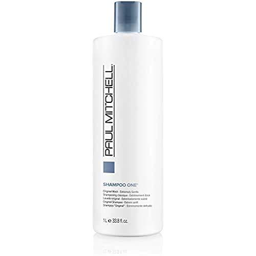 Paul Mitchell Shampoo One - Haarwäsche in Friseur-Qualität für alle Haartypen, mildes Clarifying-Shampoo für eine sanfte Reinigung, 1000 ml