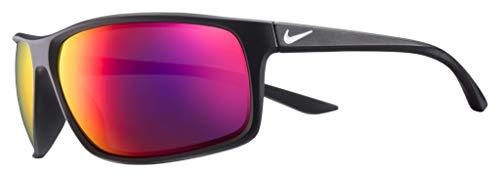 Nike Sun Herren Adrenaline M Sonnenbrille, schwarz, 66 mm