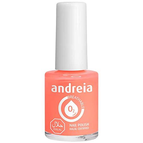 Andreia Halal Atmungsaktiver Nagellack - Wasserdurchlässig - B5 Rosa - Rottöne | 10.5 ml