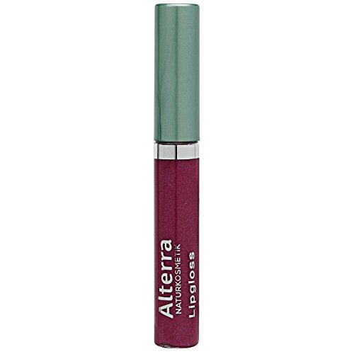 Alterra Lipgloss 5 ml Farbe: 07 Raspberry, für gepflegte & glänzende Lippen, zertifitzierte Naturkosmetik