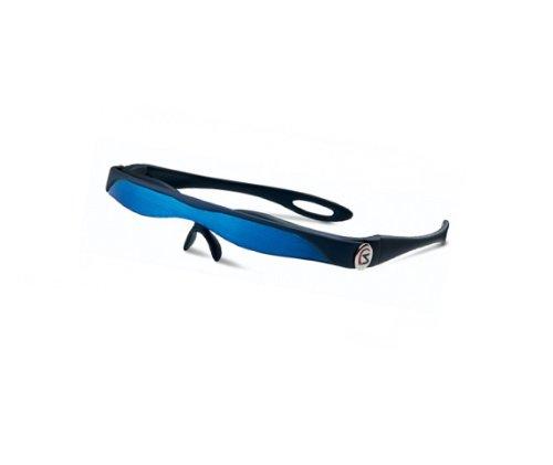 Sunblade Sonnenschutz Sonnenblende SB 701A & Sport Schwarz-Metallic Blau mit Tasche