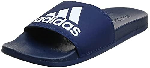 adidas Adilette Comfort, Zapatos de Playa y Piscina Hombre, Azul Azuosc Ftwbla Azuosc 000, 43 EU